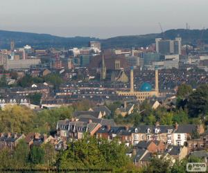 Układanka Sheffield, Wielka Brytania