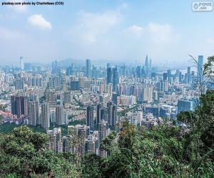 Układanka Shenzhen, Chiny