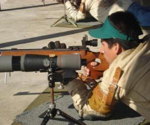 Układanka Shooter strzeleckie w akcji