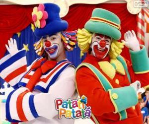 Układanka Show Patatí Patatá