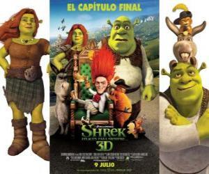 Układanka Shrek Forever