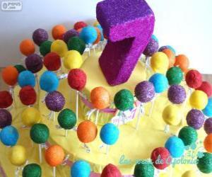 Układanka Siódme urodziny