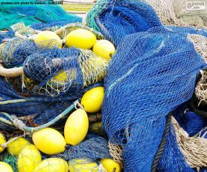 Układanka Sieć rybacka