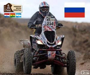 Układanka Siergiej Karyakin, Dakar 2017