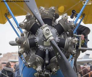 Układanka Silnik dwupłatowy