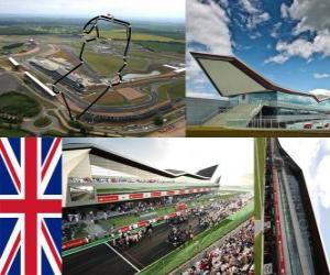 Układanka Silverstone Circuit - Wielka Brytania -