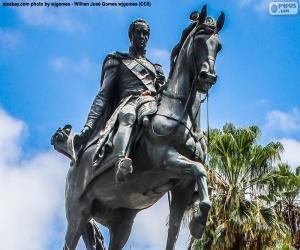 Układanka Simón Bolívar