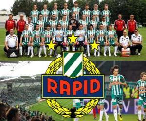 Układanka SK Rapid Wiedeń, austriacki klub piłkarski