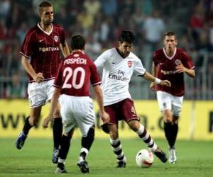 Układanka Skarga na mecz piłki nożnej na stadionie