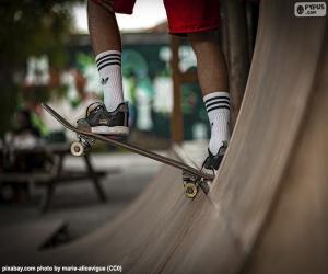 Układanka Skateboarding