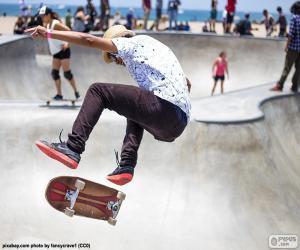 Układanka Skater