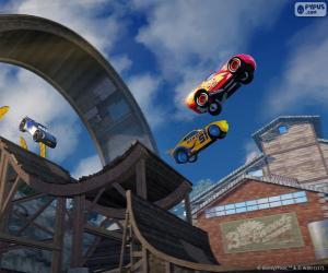 Układanka Skok, Auta 3 gry wideo