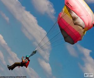 Układanka Skoki spadochronowe