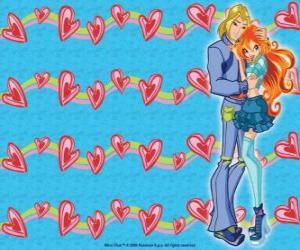 Układanka Sky Prince of Eraklion i Bloom w miłości