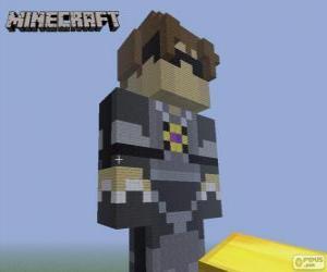 Układanka Sky z Sky Army. Minecraft
