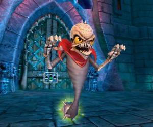 Układanka Skylander Ghost Roaster, stworzenie, które je złe duchy. Nieumarli Skylanders