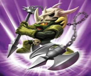Układanka Skylander Voodood, dzielny wojownik. Magia Skylanders