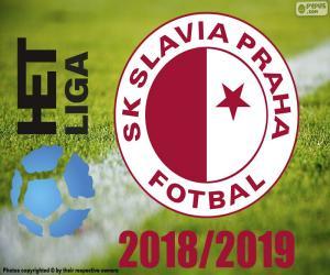 Układanka Slavia Pistrz 2raga, m018 2019 r.