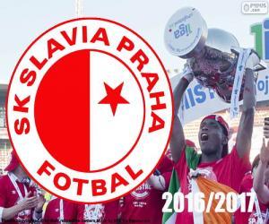 Układanka Slavia Praga, mistrz 2016-2017