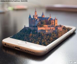 Układanka Smartphone 3D