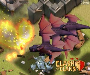 Układanka Smoki 2, Clash of Clans