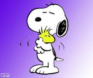 Układanka Snoopy i Woodstock
