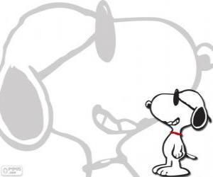 Układanka Snoopy