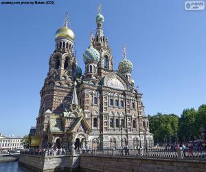 Układanka Sobór Zmartwychwstania Pańskiego, Rosja