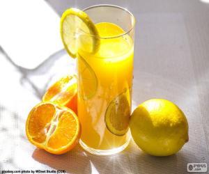 Układanka Sok pomarańczowy i cytrynowy