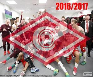 Układanka Spartak Moskwa, mistrz 2016-2017