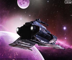 Układanka Specjalny statek przestrzeni