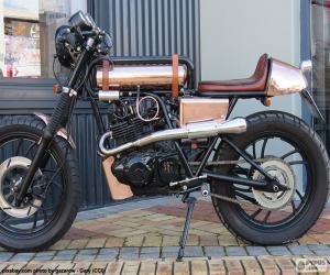 Układanka Spersonalizowany motocykl