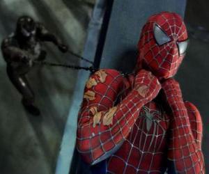 Układanka Spiderman złowionych w Venom