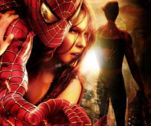 Układanka Spiderman z Mary Jane