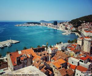 Układanka Split, Chorwacja