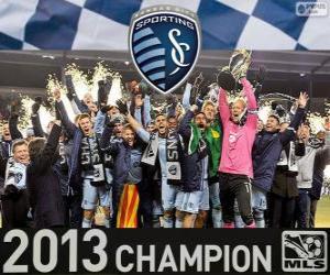 Układanka Sporting Kansas City, mistrz MLS 2013