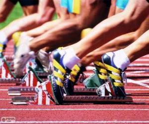 Układanka Sportowców przygotować się do wyjścia