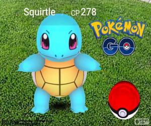 Układanka Squirtle Pokémon GO