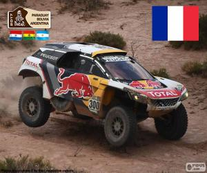 Układanka Stéphane Peterhansel, Dakar 2017