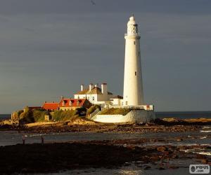 Układanka St. Mary's latarnia morska, Anglia