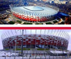 Układanka Stadion Narodowy w Warszawie (58.145), Warszawa - Polska