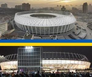 Układanka Stadion Olimpijski w Kijowie (69.055), Kijów - Ukraina