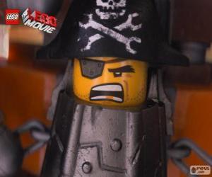Układanka Stalowobrody, pirata który chce zemścić się na Lord Business