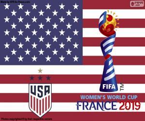 Układanka Stany Zjednoczone Ameryki, mistrzów świata w 2019 r.