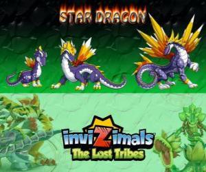 Układanka Star Dragon, najnowszej ewolucji. Invizimals Zaginione Plemiona. Najbardziej wartościową invizimal smok