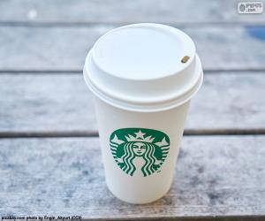Układanka Starbucks kubek