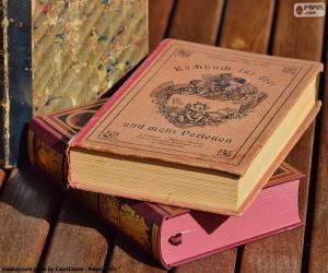 Układanka Stare książki