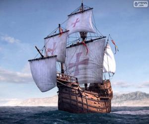 Układanka Statek Santa Maria