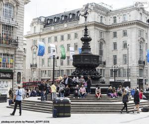Układanka Statua Eros, Londyn