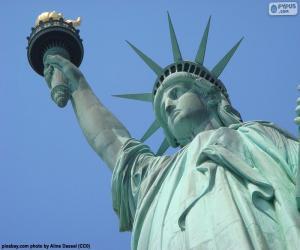 Układanka Statua wolności, Nowy Jork